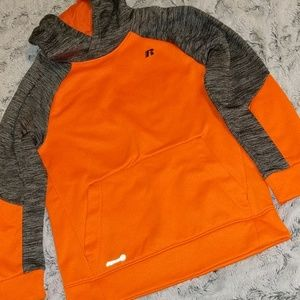 Orange and Gray Russell hoodie